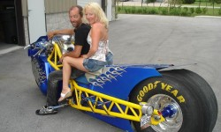 Scott and the wife rode from Canada to Fla on that!!!!!