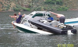 Cool ass tow Boat